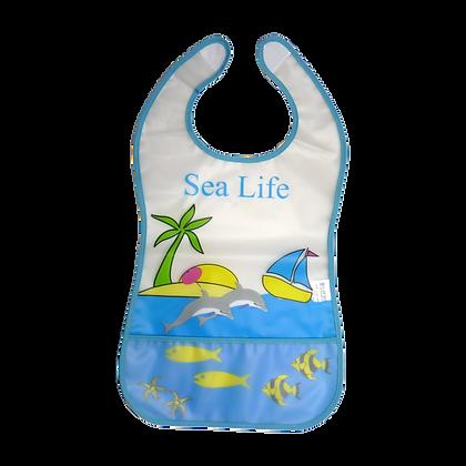 סינר PEVA מודפס SEA LIFE
