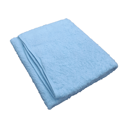 """מגבת רחצה - ענקית - במידה 140/95 ס""""מ - תכלת"""
