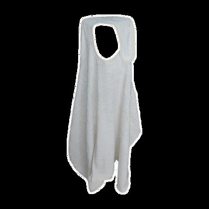 """מגבת חיבוקי - מגבת גדולה 115/85 ס""""מ שמנת"""