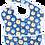 סינרי האכלה Oopsi Baby - ינשופים כחולים