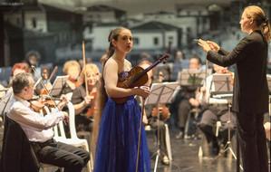 קונצ'רטו לכינור של צ'ייקובסקי עם הכנרת הדר רימון