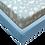 Thumbnail: סט מצעים ג'רסי Jersey למיטת מעבר - עננים תכלת