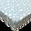Thumbnail: סדין טריקו ג'רסי Jersey לעגלת תינוק - מודפס - עננים תכלת