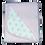 "Thumbnail: שמיכה משולבת דו שכבתית - כוכבים ורוד - *90/80 ס""מ"