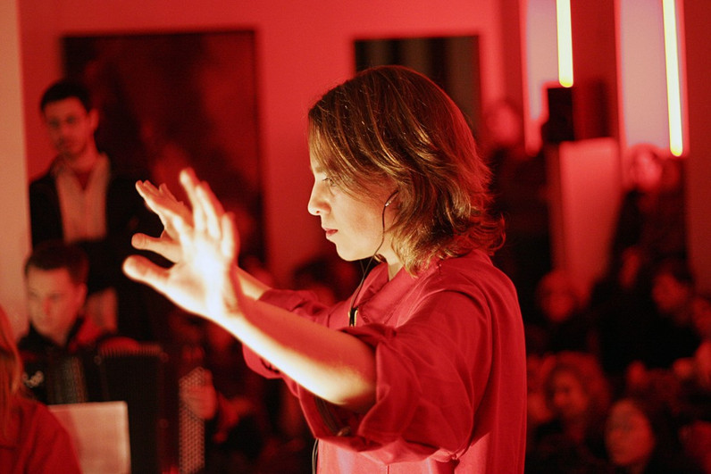 Talia Ilan conducts Reflex Ensemble, New York