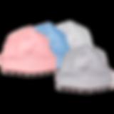 מגוון צבעים של כובע לתינוק