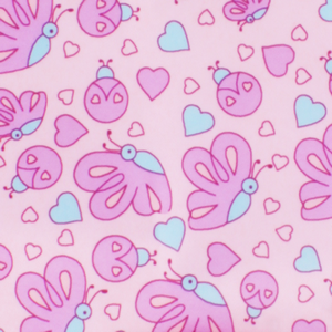 סינרי גן Oopsi Baby - פרפרים ורודים