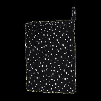 סינר הנקה 100% כותנה - כוכבים שחור
