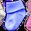 שלושה צבעים של גרביים 0-3 חודשים