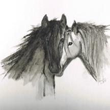 Horse #2 Series of three