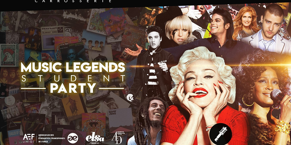 MUSIC LEGENDS STUDENTS PARTY