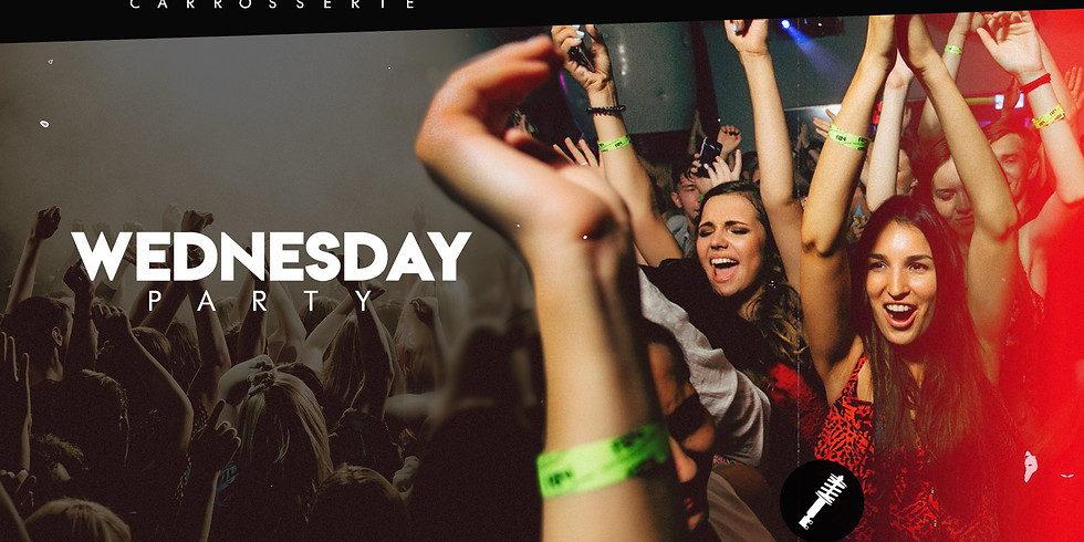 WEDNESDAY ALL STYLE PARTY  (VEILLE FERIE)