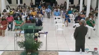 Igreja Batista Missionária Nova Esperança em Itiúba/BA recebe seu novo pastor