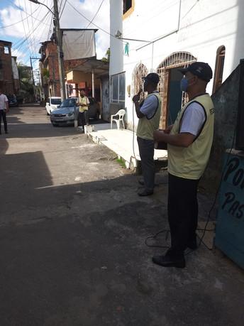 Missões realizada no Lobato - Salvador/BA