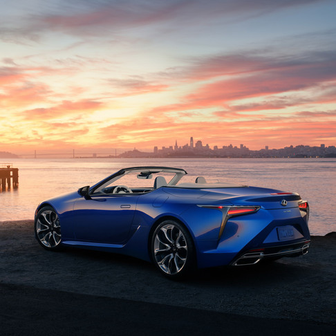 Lexus is selling the first LC500 convertible of the 2021 Inspiration series for $ 2 million.
