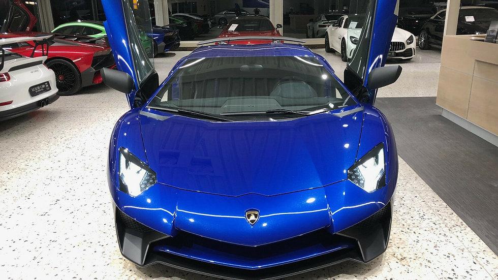 Lamborghini Aventador LP 750-4 SV Coupe