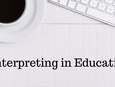 A Path to Interpreting in Education: An Interview with Luis Hernández