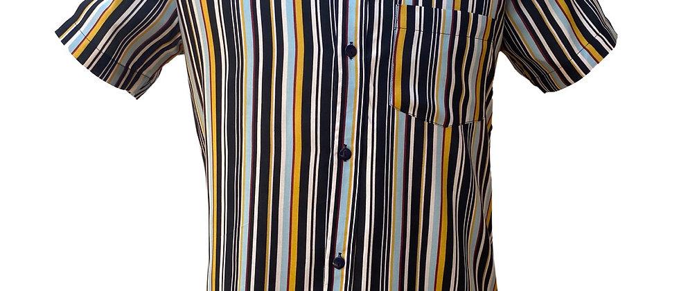 "Camisa ""White Stripes"""