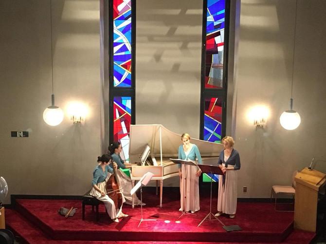 Concert à la Momijizaka church・紅葉坂教会でのコンサート