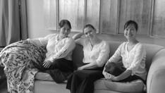 Les Belles Dames sans Merci. Photo Georges Van Lierde