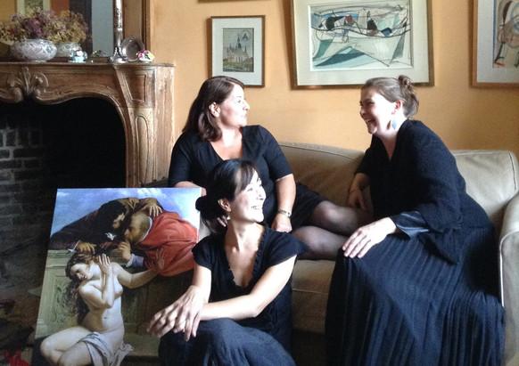 Les Belles Dames sans Merci. Photo John Verheyen
