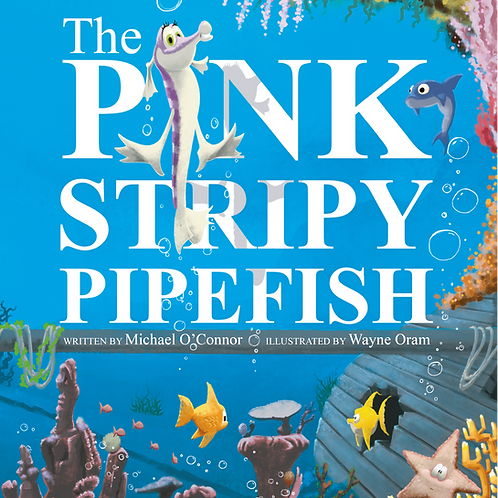 The Pink Stripy Pipefish by Michael O'Connor