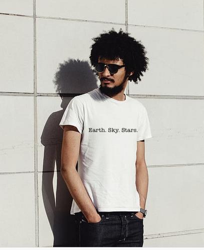 GUY EARTH SKY STARS