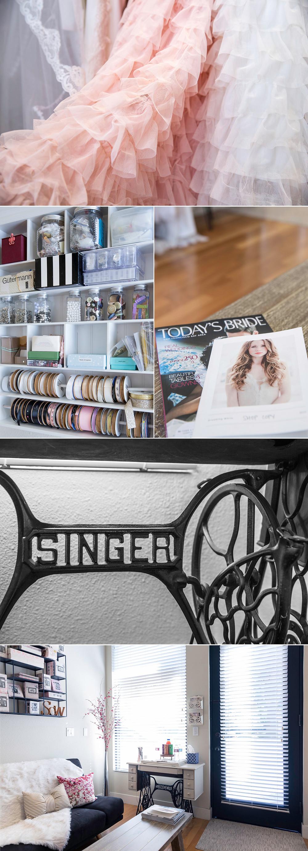 wedding dress designer studio