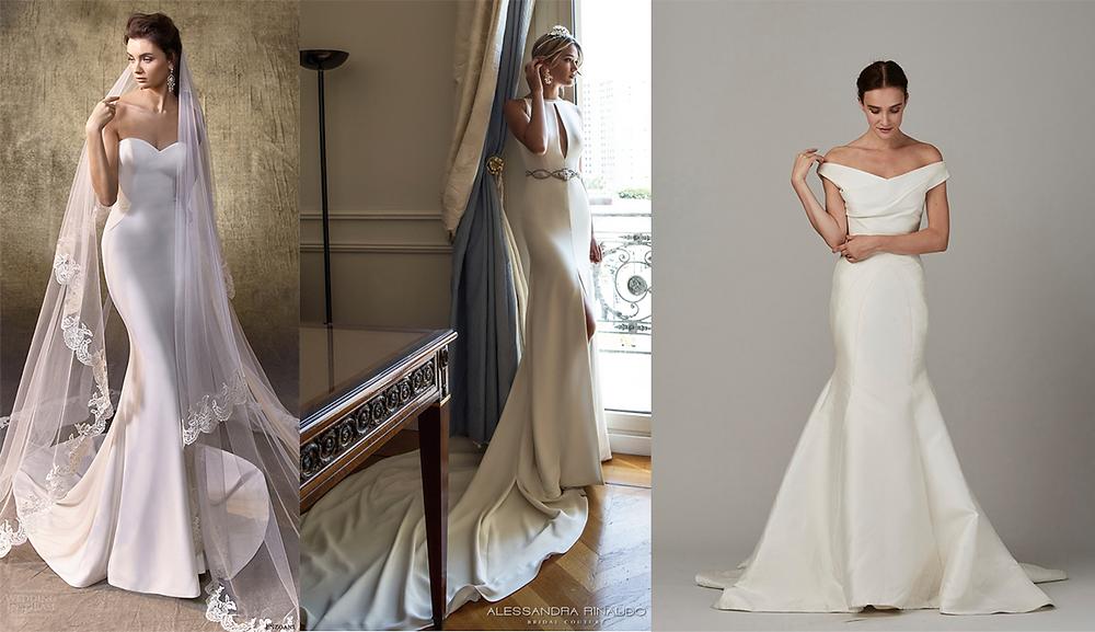 Minimal Wedding Dress Trend