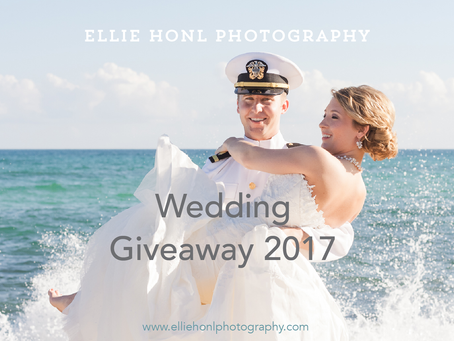 2017 Wedding Photography Giveaway