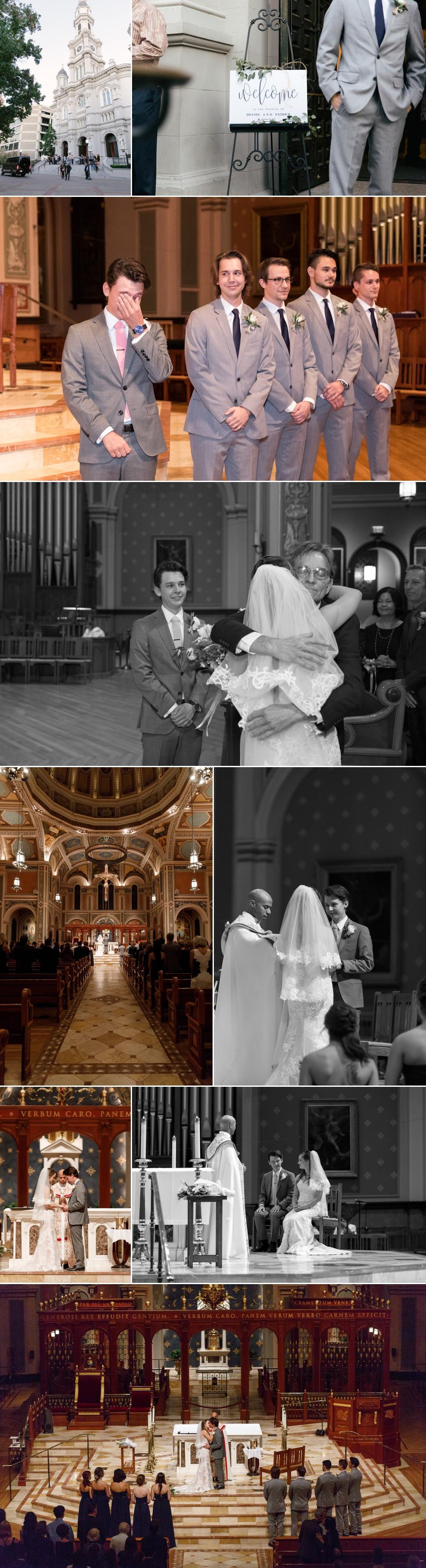 Sacramento Cathedral ceremony