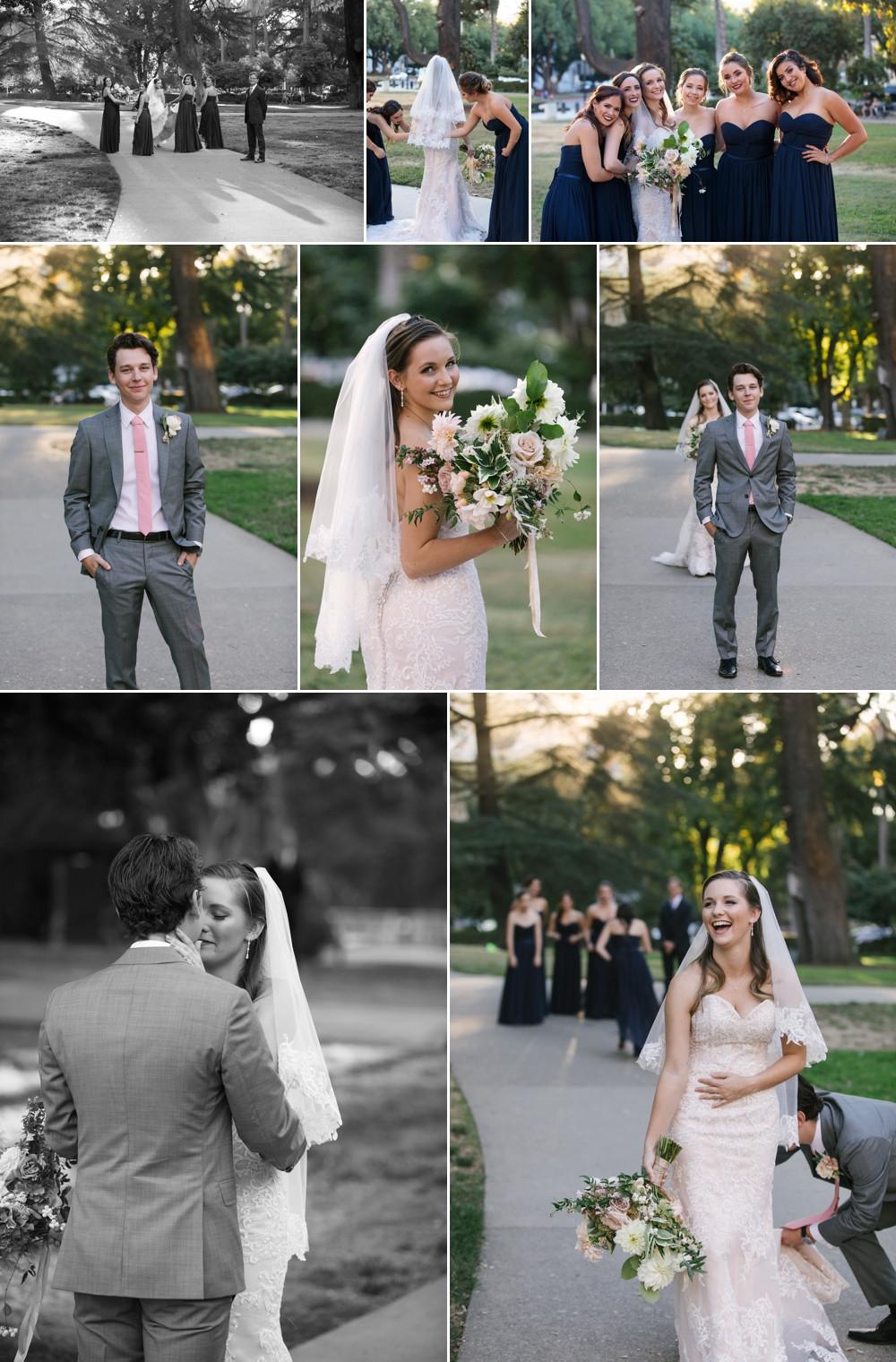 sacramento wedding first look