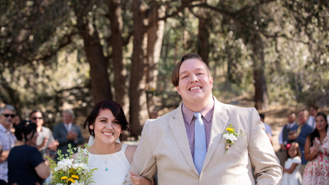 Camp Wrightwood Wedding