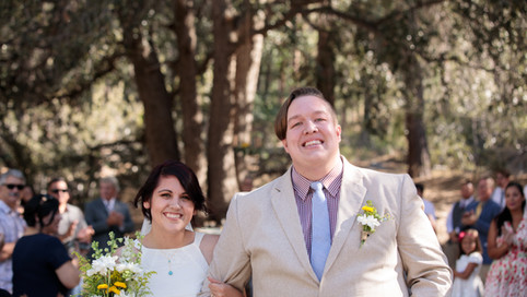 Camp Wrightwood Wedding