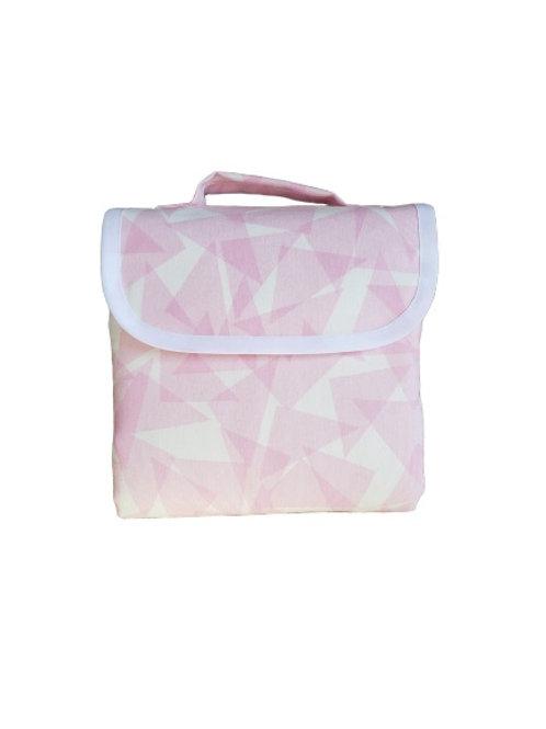 Triángulos rosados