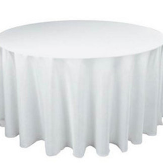 """120"""" Round Banqueting Tablecloth Hire"""