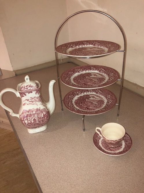Afternoon Tea Cake Stand Hire