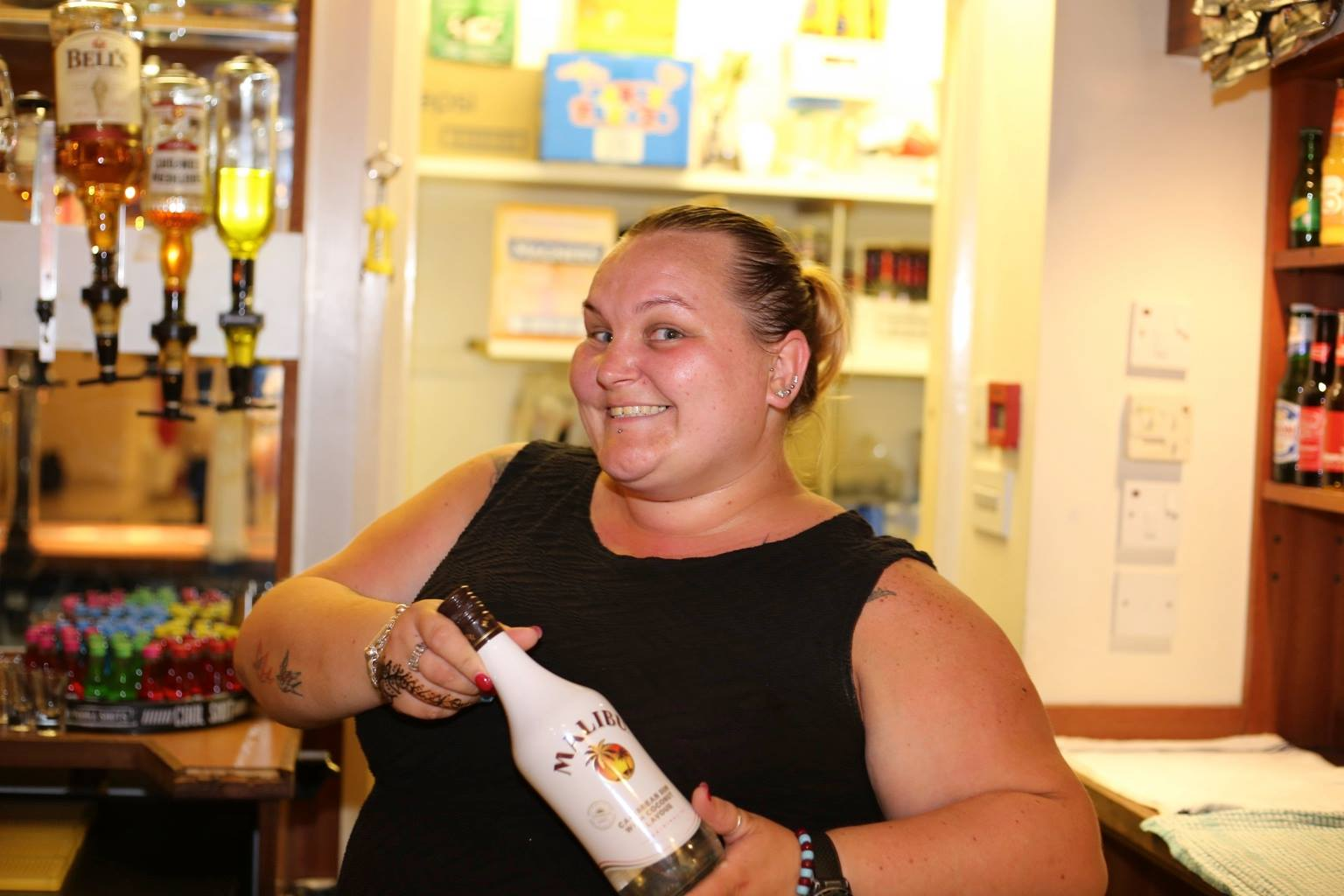 Bar Manager Alicia