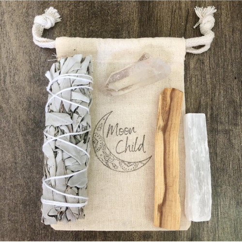 Raising Your Vibration Smudging & Clearing Kit