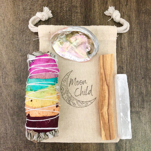 Balance & Alignment Chakra Smudging & Clearing Kit