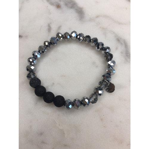 Silver Diffuser Bracelet