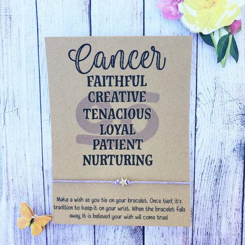 Cancer Make a Wish Bracelet