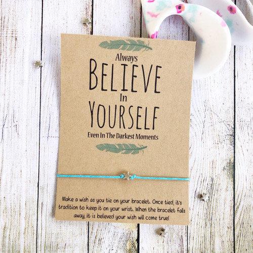 Believe in Yourself Make a Wish Bracelet