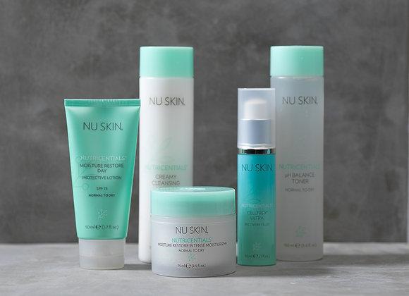Set Perfekte Hautpflege für normale bis trockene Haut