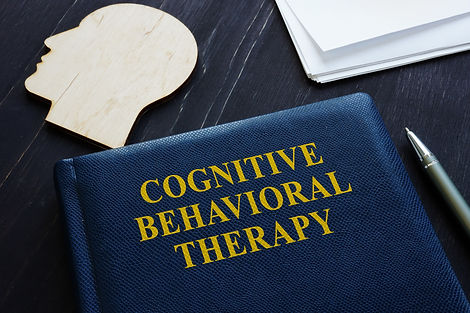 Cognitive behavioral therapy CBT book an