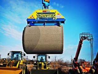 Tecnologia a vácuo traz maior rapidez e segurança na movimentação de materiais