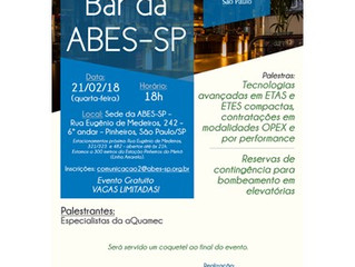 Bar da ABES-SP: especialistas da                                                        aQuamec farã