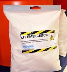 Uma nova embalagem para o Spill Kit de 20 litros