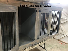 Solid Center Divider