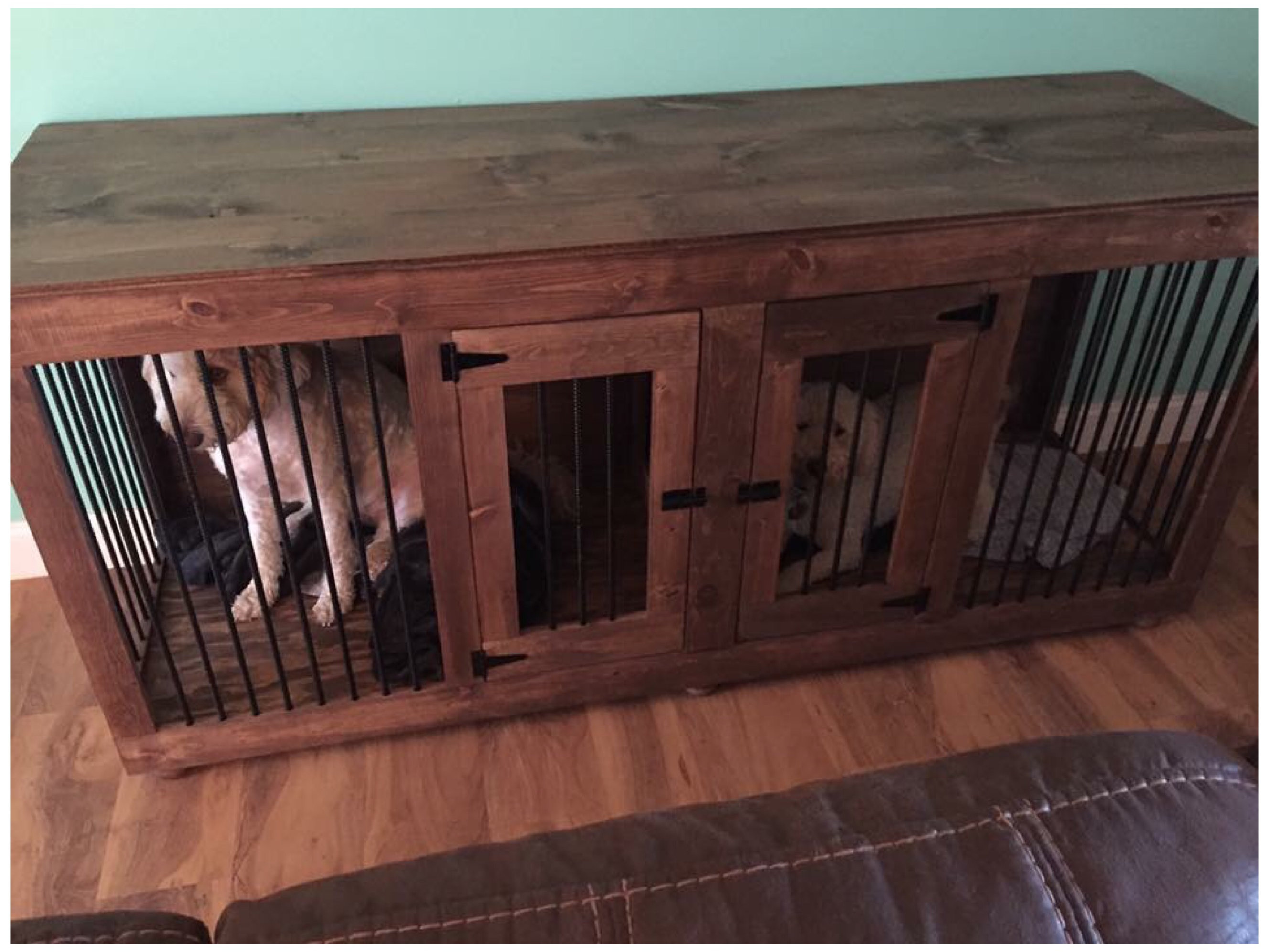 The Dog Cave Handcrafted Wooden Dog Kennels